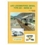 Les locomotives diesel type 201 - Série 59