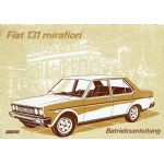 FIAT 131 Mirafiori Betriebsanleitung