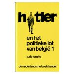 Hitler en het politieke lot van België (1940-1944), deel 1