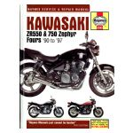 Kawasaki ZR550 and 750 Zephyr Fours '90 to '97