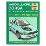 Vauxhall/Opel Corsa Service and Repair Manual: April 1997 to Oct 2000 (P to X registration) Petrol
