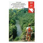 Topo-guide du sentier de grande randonnée de la vallée de l'Ourthe et du sentier du Nord.