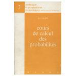 Cours de calcul des probabilités