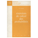 Exercices de calcul des probabilités